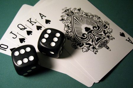 Games Played At A Corporate Casino Party - Gambling